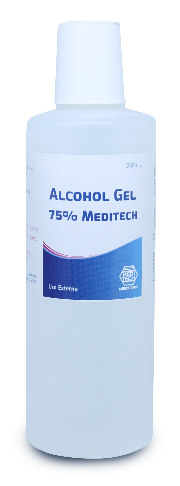 Alcohol Gel 75% Meditech 250 ml