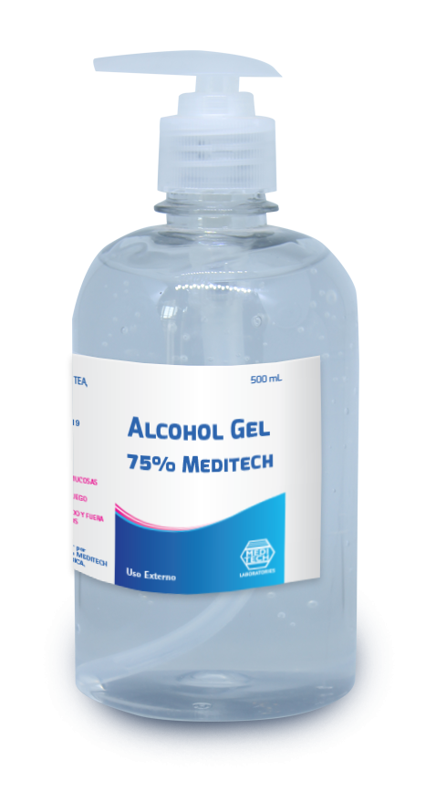 Alcohol Gel 75% Meditech 500 mL